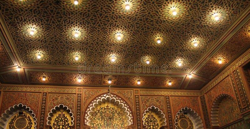Salão maçônico do templo foto de stock royalty free