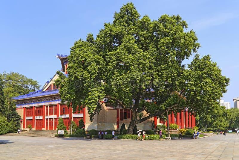 Salão memorável de Sun Yat-sen, guangzhou, porcelana imagem de stock royalty free