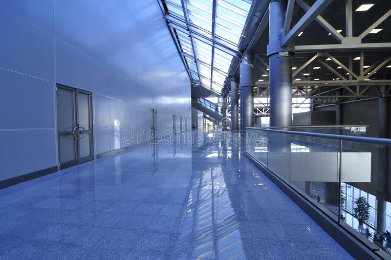 Salão moderno novo do negócio imagens de stock royalty free