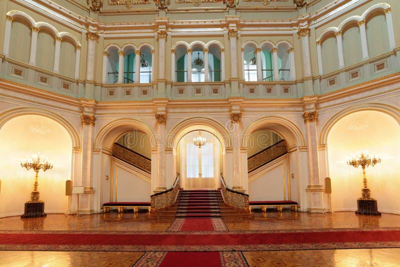 Salão pequeno de Georgievsky foto de stock royalty free