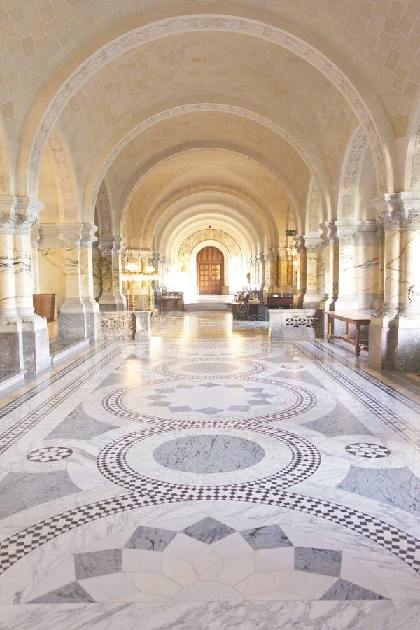 Salão principal do palácio da paz fotos de stock royalty free