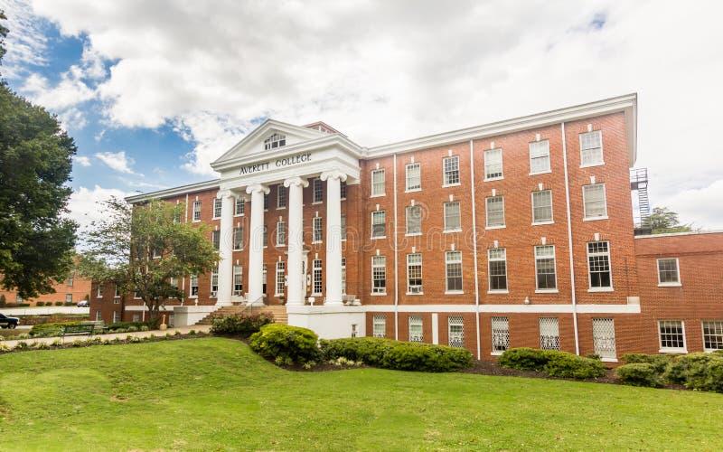 Salão principal na universidade de Averett fotografia de stock royalty free
