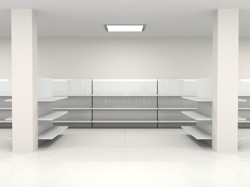 Salão vazio ilustração royalty free