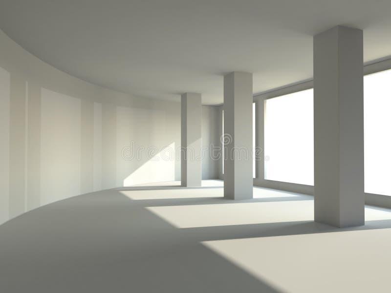 Salão vazio ilustração do vetor
