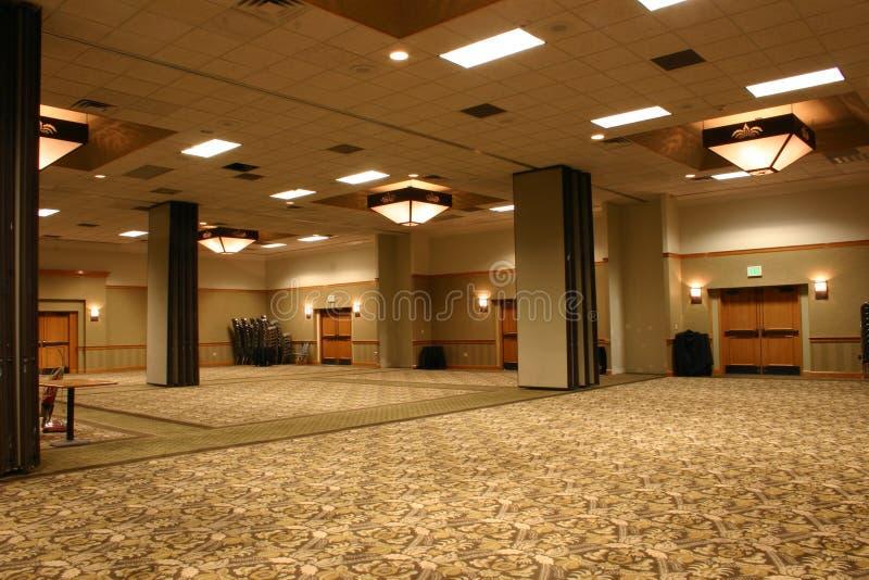 Salón de baile del hotel foto de archivo