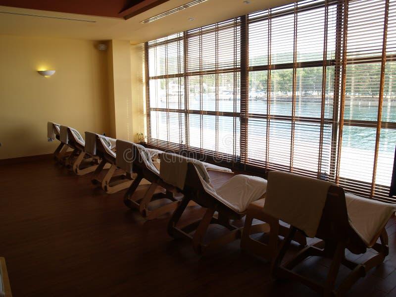 Salón de relajación reservado imagen de archivo libre de regalías