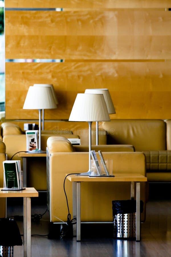 Salón del aeropuerto del VIP imagenes de archivo