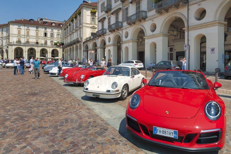 Salón del automóvil de Torino - tercera edición 2017 fotografía de archivo libre de regalías