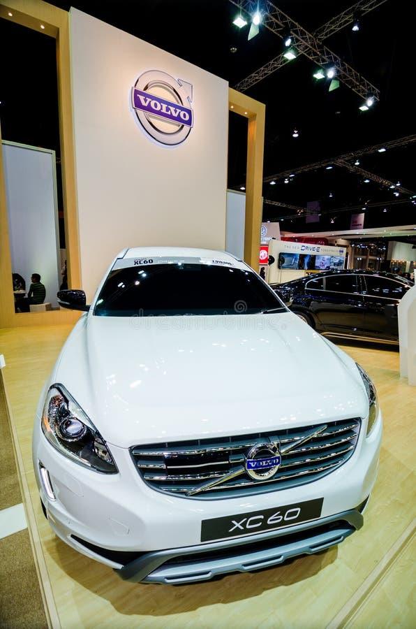Salón del automóvil de Volvo xc60 Tailandia. imagen de archivo libre de regalías