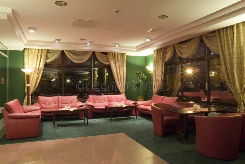Salón del hotel imagenes de archivo