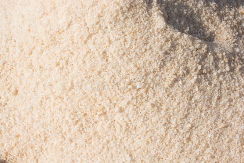 Sal branco moído fotos de stock royalty free