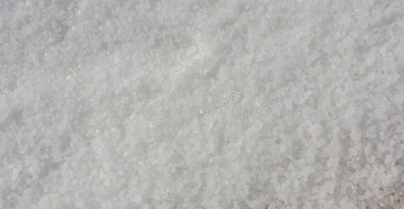 Sal branco moído foto de stock