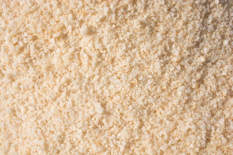 Sal branco moído imagens de stock