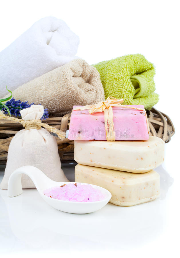 Download Sal de banho aromático imagem de stock. Imagem de aromatherapy - 29826021