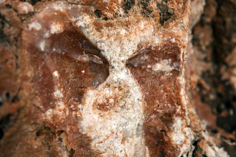 Sal de rocha em pedras foto de stock royalty free