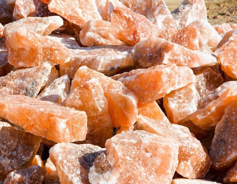 Sal de rocha Himalaia imagens de stock