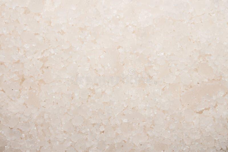 Sal do mar para banhar-se Fundo de sal do mar foto de stock royalty free
