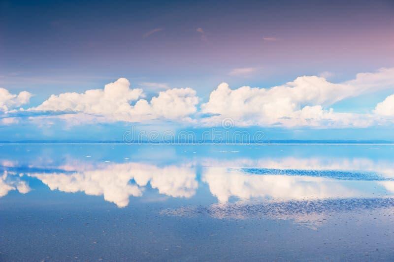 Sal Salar de Uyuni plano, Bolivia fotografía de archivo libre de regalías