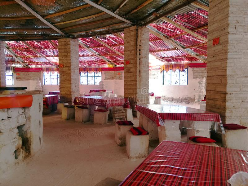 Sal Uyuni Bolivia Salar del hotel fotos de archivo