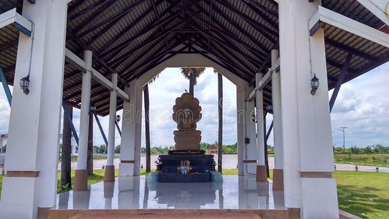 Sala泰国或小河寺庙 免版税图库摄影