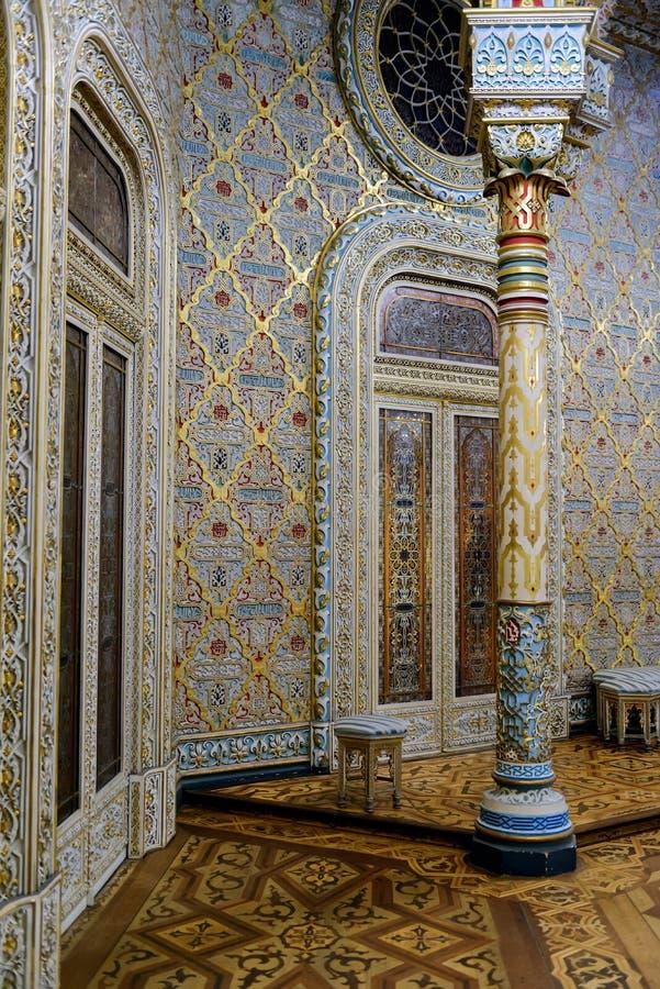 A sala árabe no Palacio a Dinamarca Bolsa fotografia de stock