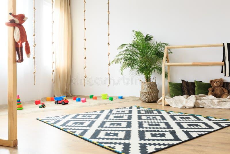 Sala amigável das crianças de Eco imagens de stock royalty free