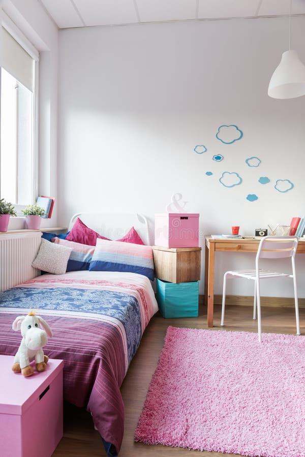 Sala bonito para a menina imagens de stock royalty free