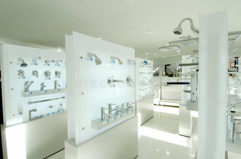 Sala d'esposizione dell'impianto idraulico fotografie stock libere da diritti