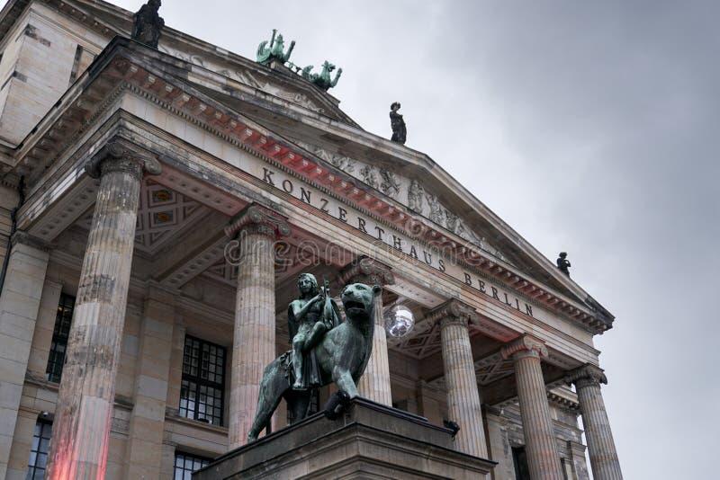 Sala da concerto - Berlin City Germany immagini stock libere da diritti