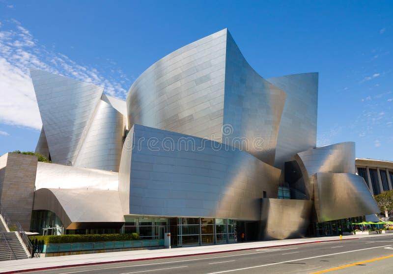 Sala da concerto del Walt Disney fotografie stock libere da diritti