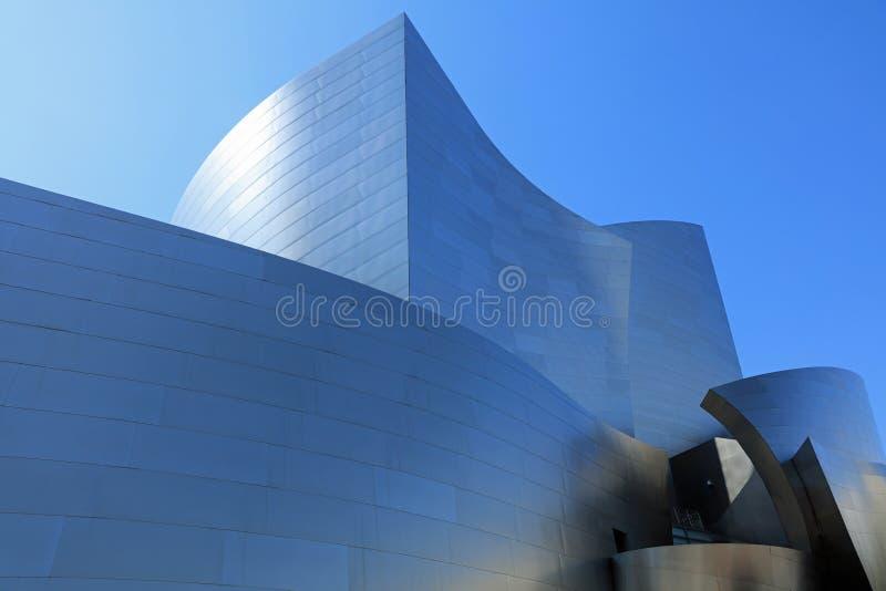 Sala da concerto del Walt Disney a Los Angeles california U.S.A. fotografia stock libera da diritti
