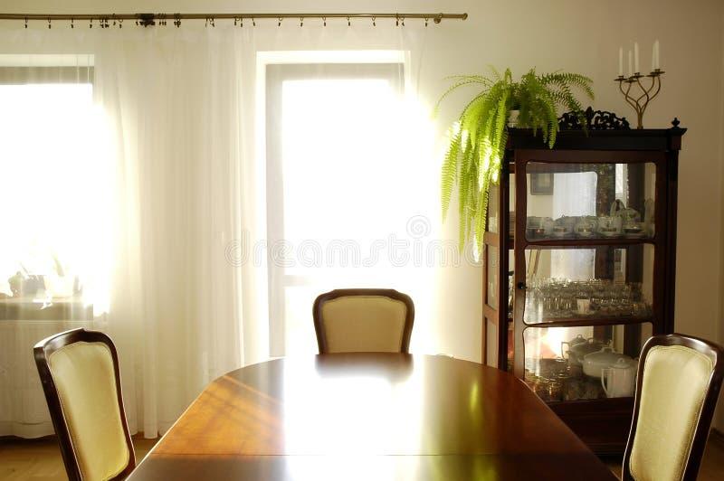 Sala da pranzo fotografia stock