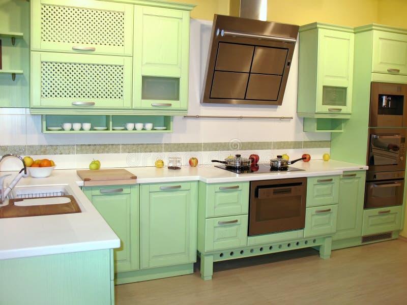 Sala da pranzo della cucina immagini stock