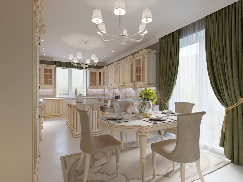 Interior Design Classico Luminoso Del Bagno In Grande Casa ...