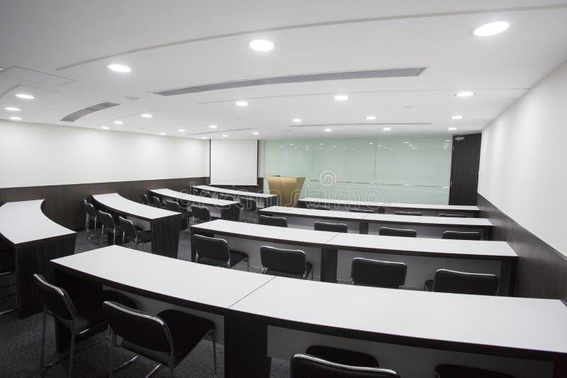 Sala da reunião e do tutor fotografia de stock