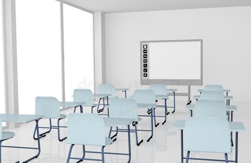 Sala de aula ilustração royalty free