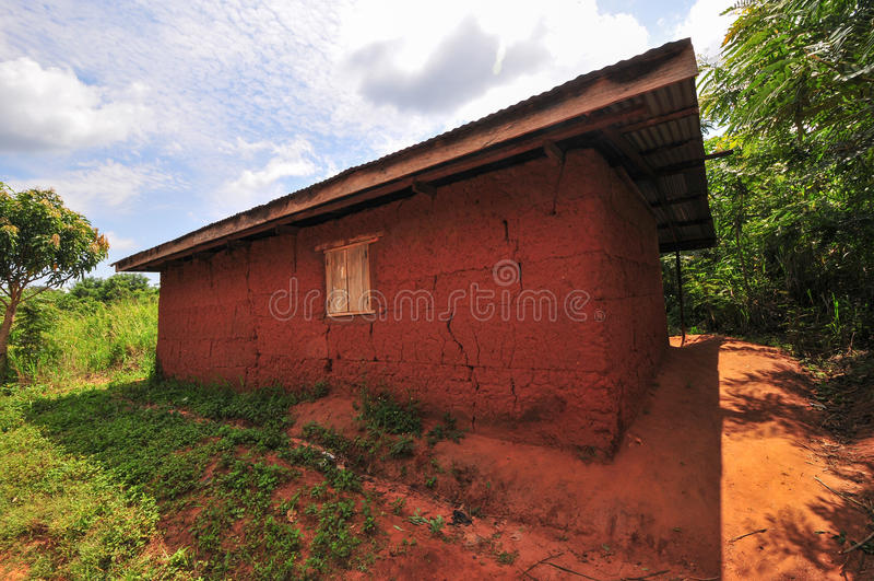 Sala de aula africana da escola primária imagem de stock royalty free