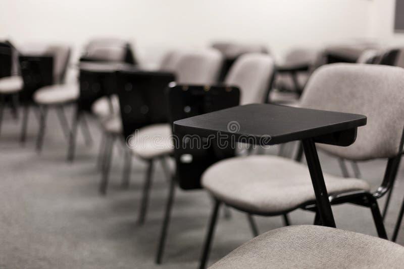 Sala de aula da faculdade imagens de stock