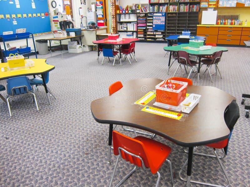 Sala de aula do jardim de infância fotografia de stock