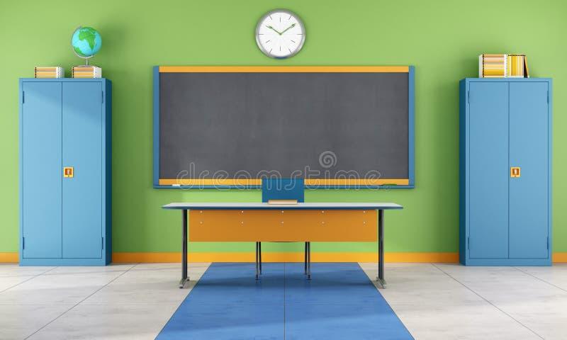 Sala de aula moderna ilustração do vetor