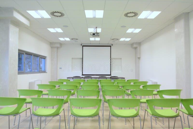 Sala de aula vazia foto de stock