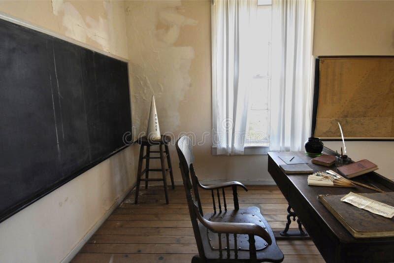 Sala de clase de Goldrush foto de archivo