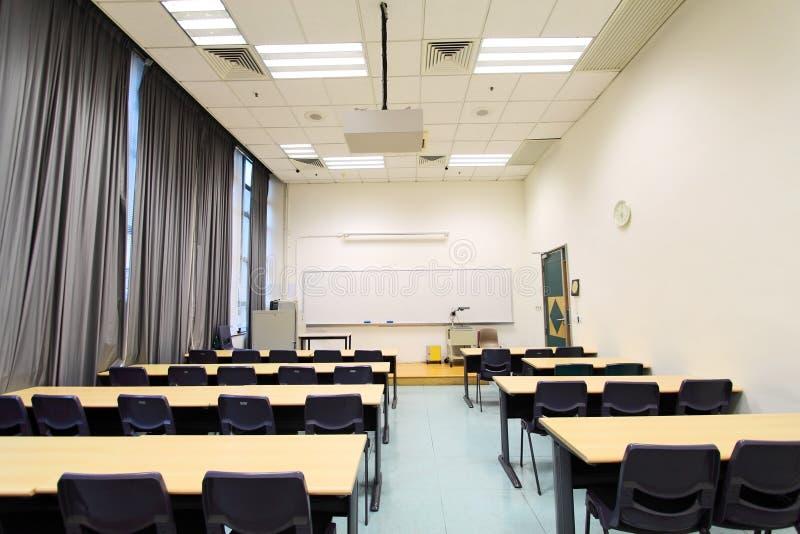 Sala de clase en una universidad fotografía de archivo