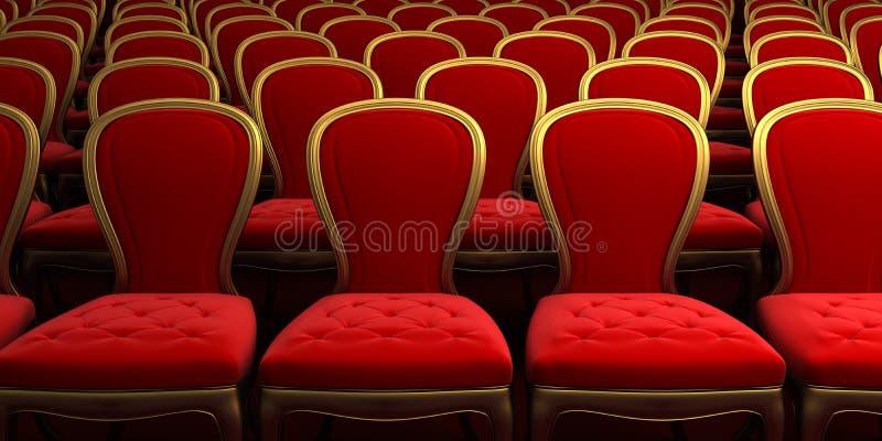 Sala de concertos ilustração royalty free