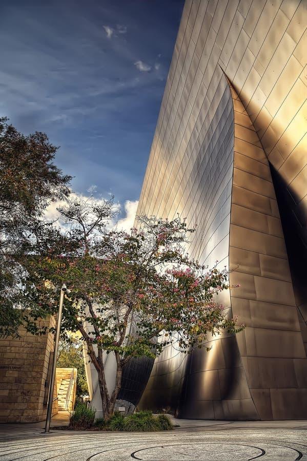 Sala de concertos de Los Angeles foto de stock royalty free