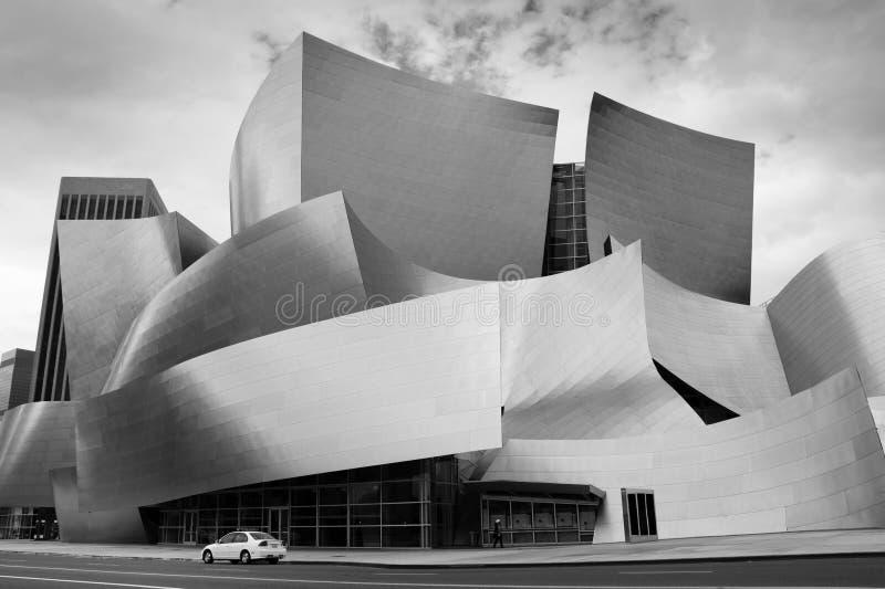 Sala de concertos, Los Angeles, Califórnia imagens de stock royalty free