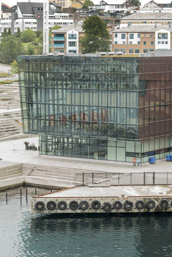 Sala de concertos de Stavanger Konserthus fotos de stock