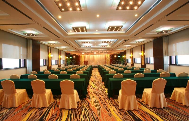 Sala de conferências colorida foto de stock royalty free