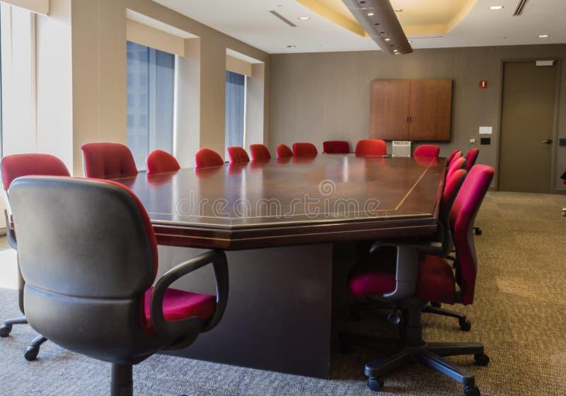 Sala de conferências incorporada foto de stock