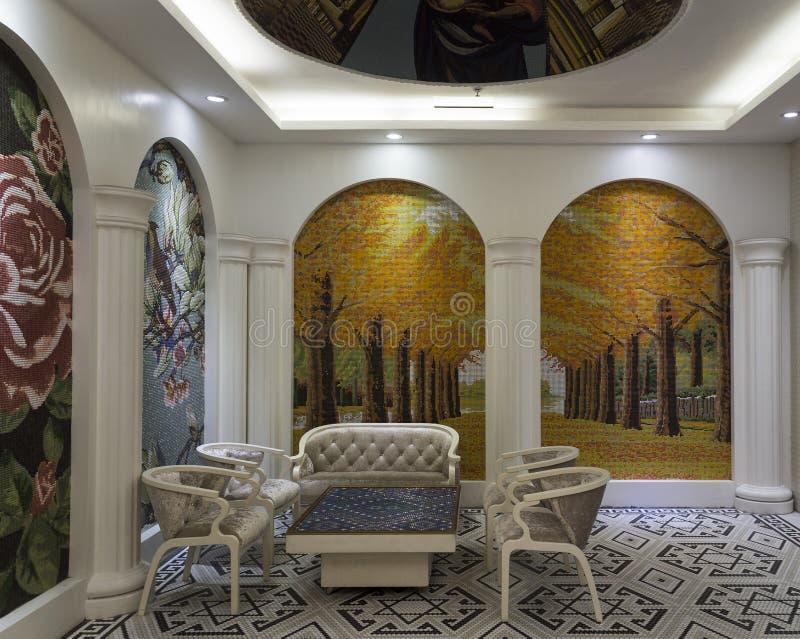 Sala de conferências luxuosa fotos de stock royalty free